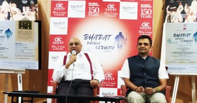 "C Krishniah Chetty Foundation brings – ""Bharat Bhagya Vidhata"" the mega stage performance & visual treat about Mahatma Gandhi"